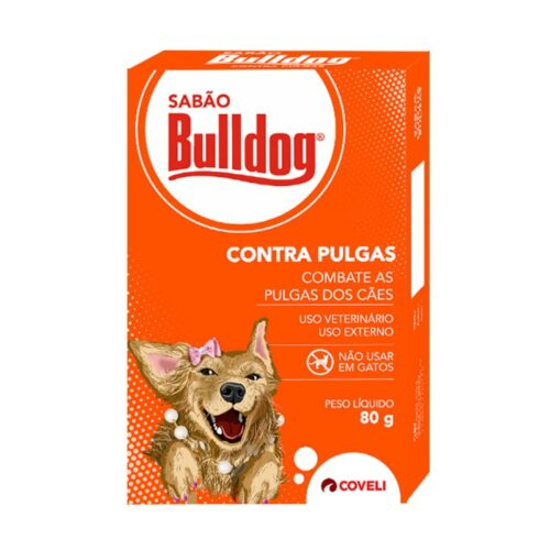 Sabão Bulldog Contra Pulgas