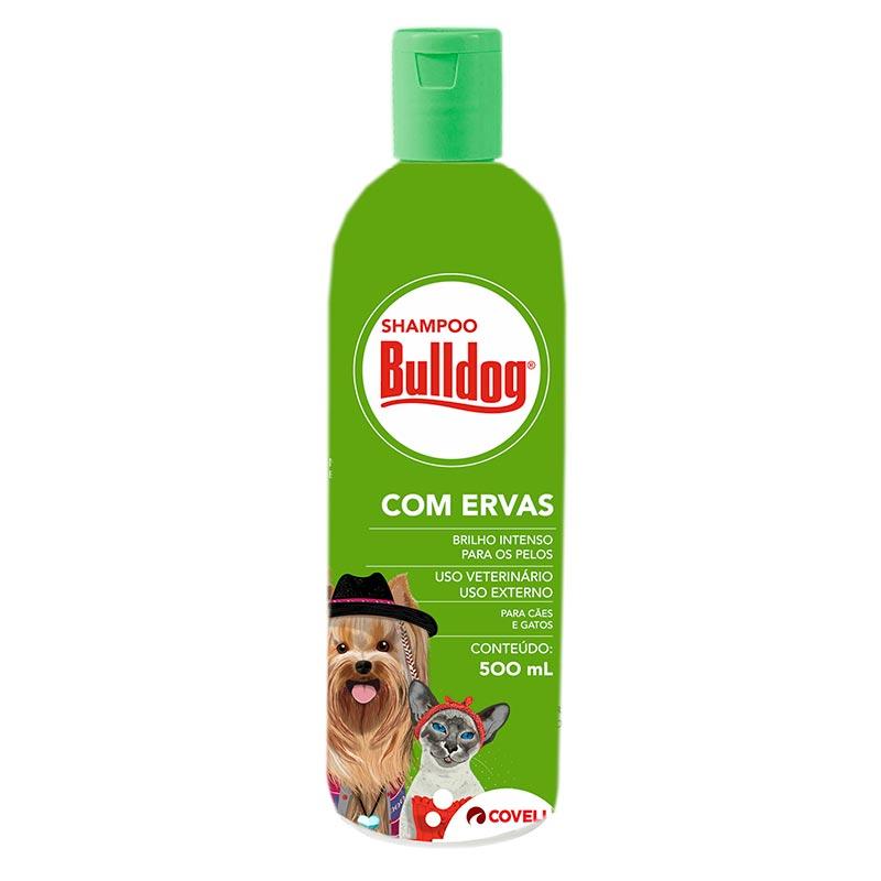 Shampoo Bulldog com Ervas