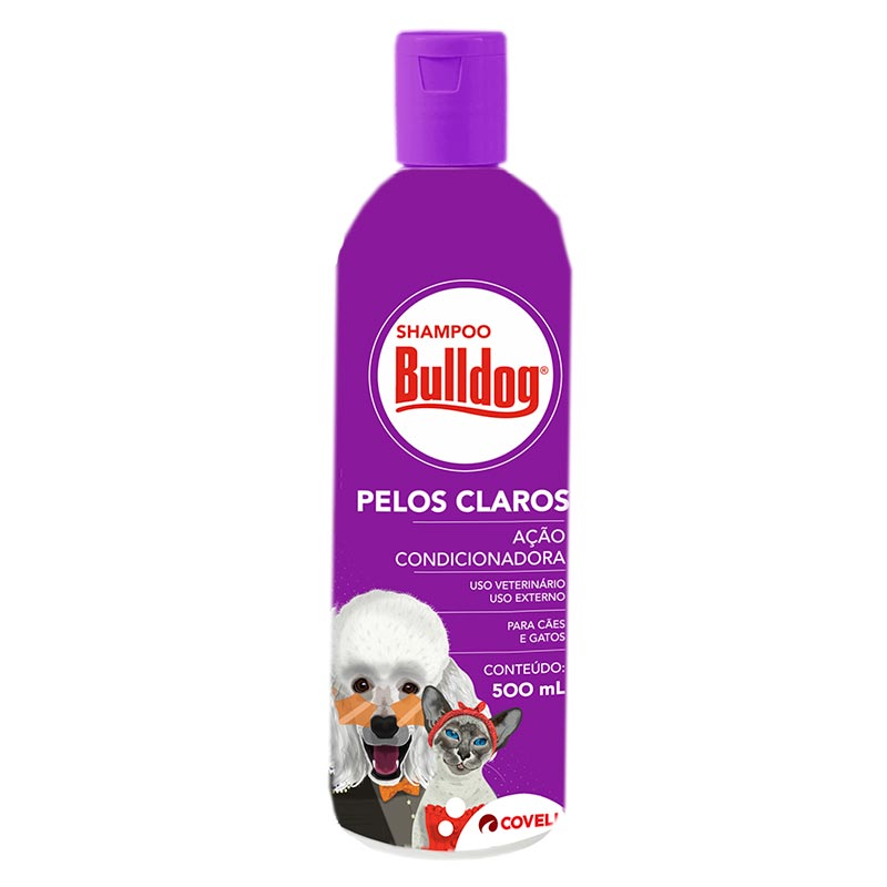 Shampoo Bulldog Pelos Claros